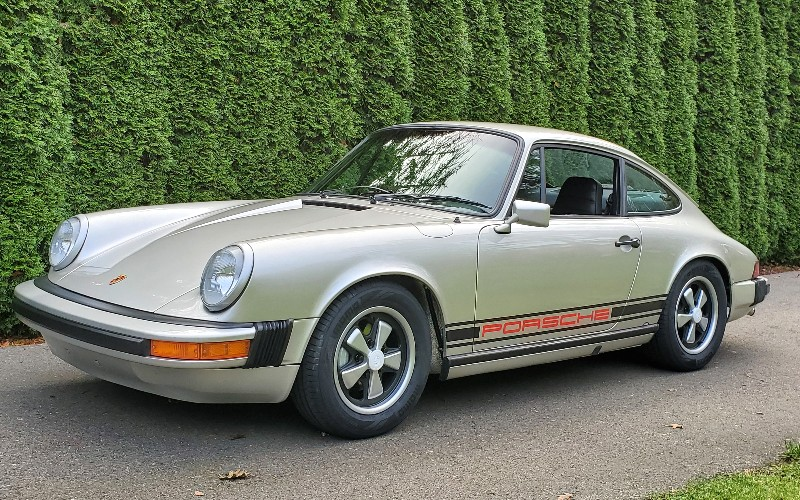 darryl's 1974 porsche 911 restoration project journal