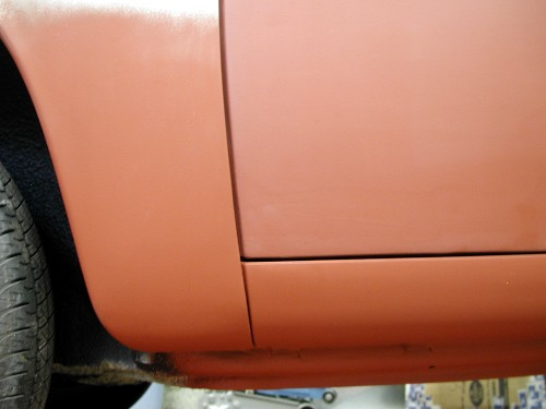 I\u0027m also happy with how the graft of the bottom 2\  of the door skin meshed into the new rockerpanel / quarter panel patch. There is a little filler here to ... & DarrylD\u0027s Porsche 912 Project Page - Phase 2: Left Side Filler ...