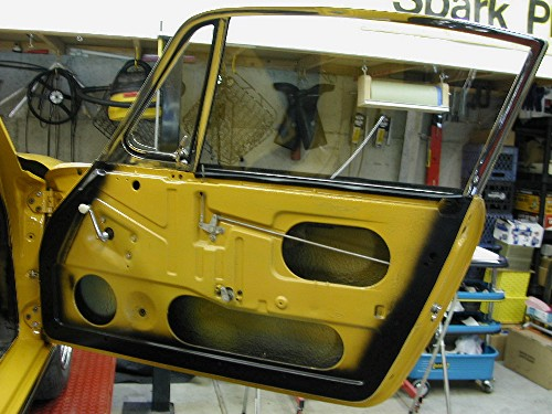 DarrylD's Porsche 912 Project Page - Body Reassembly