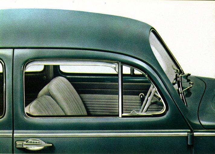 1963 Volkswagen Beetle Accessories Catalog